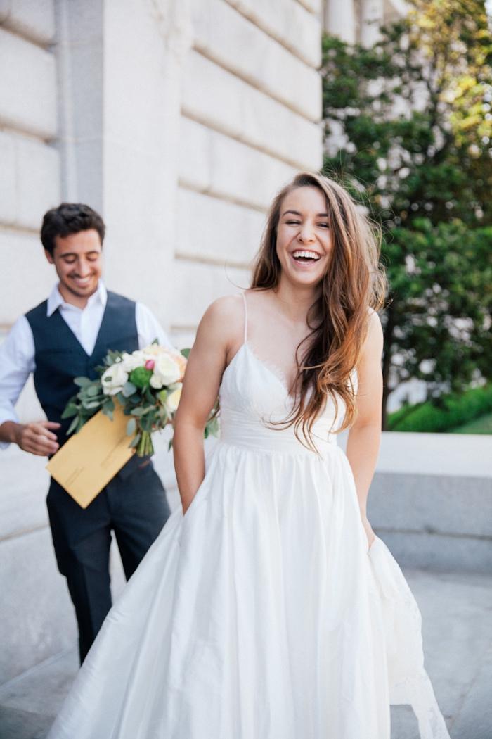 San Francisco City Hall wedding Nicole Blumberg Photography