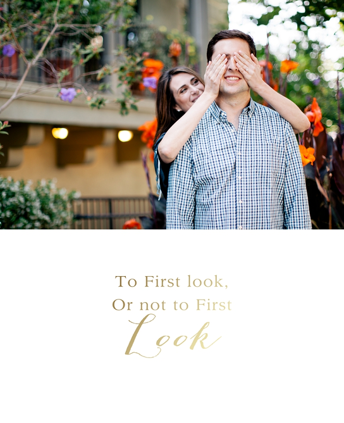 First look wedding images Nicole Blumberg Photography