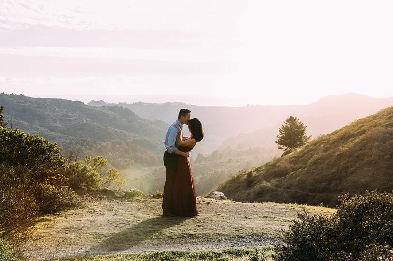 Mt Tam engagement Nicole Blumberg Photography